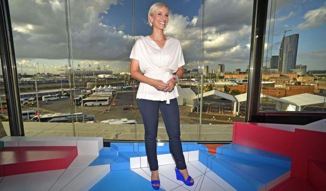 <p>DEN GANG DA: Anne Rimmen var NRKs OL-vert under London-lekene i 2012 - statskanalens foreløpig siste år med OL-rettigheter.<br/></p>