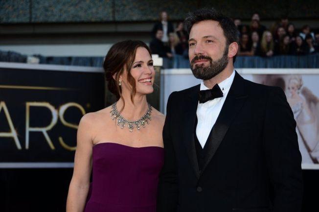 <p>SKILLES: Skuespillerne Ben Affleck og Jennifer Garner.<br/></p>