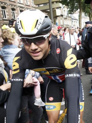 FEMTEPLASS IGJEN: Edvald Boasson Hagen, her i Amiens i kveld.