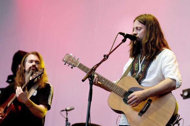 <p>PÅ SCENEN: Her er Motorpsycho under den kritikerroste konserten på Øyafestivalen i 2010.<br/></p>