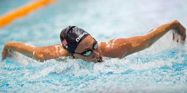 TEKNISK: Sarah Louise Rung har vist imponerende teknikk under VM for funksjonshemmede denne uken. Hun håver inn gull i mesterskapet.