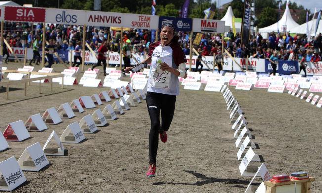 STORFORM: Neste uke starter VM i orientering, og Anne Margrethe Hausken Nordberg viser gryende form. Torsdag vant hun sin tredje strake etappe i O-ringen.