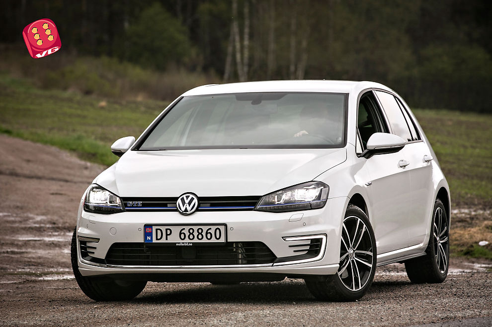 test av volkswagen golf gte vinneroppskrift biltest vg. Black Bedroom Furniture Sets. Home Design Ideas