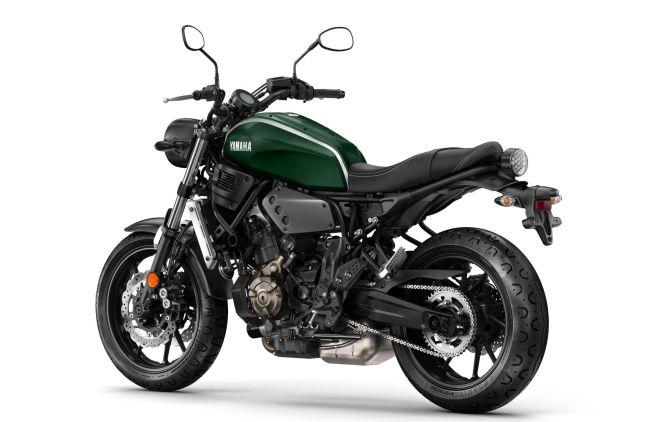 <p>KJØREMASKIN: Yamaha XSR 700 har teknikken fra topp moderne MT-07, men når det gjelder designen er inspirert av Yamaha XS 650. Med samme chassis og motor, og ABS-bremser som standard er XSR700 en topp moderne kjøremaskin.</p>