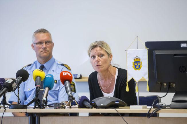 <p>ORDKNAPPE: På tirsdagens pressekonferanse var kommandosjef Per Ågren og påtaleansvarlig Eva Moren ordknappe hva gjaldt angrepet, knivene, gjerningsmennene og deres opphold i Sverige. Nå sier Ågren at de har et klarer bilde av hva som skjedde.<br/></p>