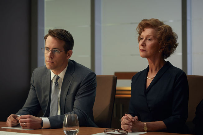 <p>RETTEN ER SATT: Ryan Reynolds og Helen Mirren i «Kvinnen i gull».<br/></p>