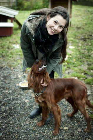 <p>VERST FOR DE SMÅ: Silje Hvarnes forteller at små hunder er mer utsatte enn store når det kommer til giftige matvarer.<br/></p>