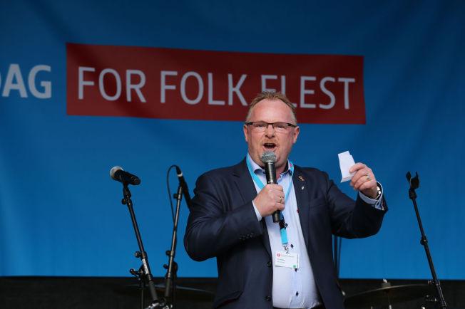 <p>FRP-POLITIKER: Per Sandberg planlegger å reise til Midtøsten for å møte flyktninger.<br/></p>