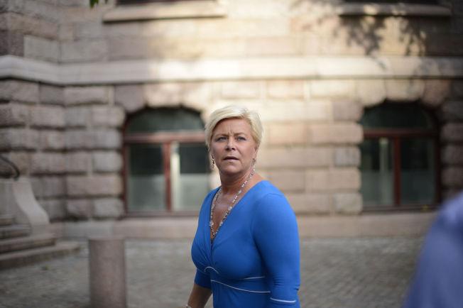<p>FINANSMINISTER: Frp-leder Siv Jensen.</p>