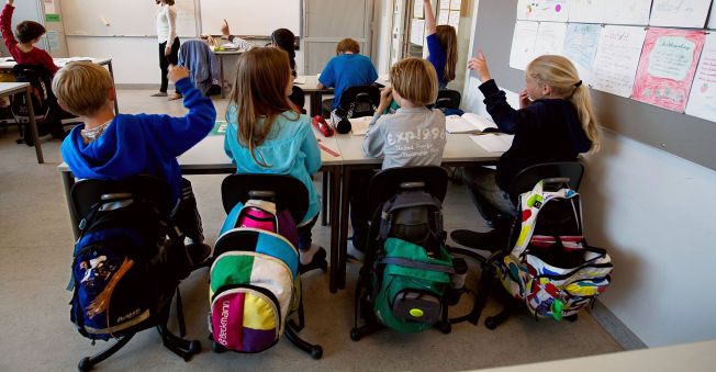 <p>TESTES: Elevene i Oslo-skolen testes hyppigst av alle norske elever med en rekke både lokale og sentrale prøver. Her fra en femte klasse ved en Oslo-skole.<br/></p>