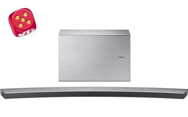BUET: Matcher elegant sammen med Samsungs største, buede TV-skjermer.
