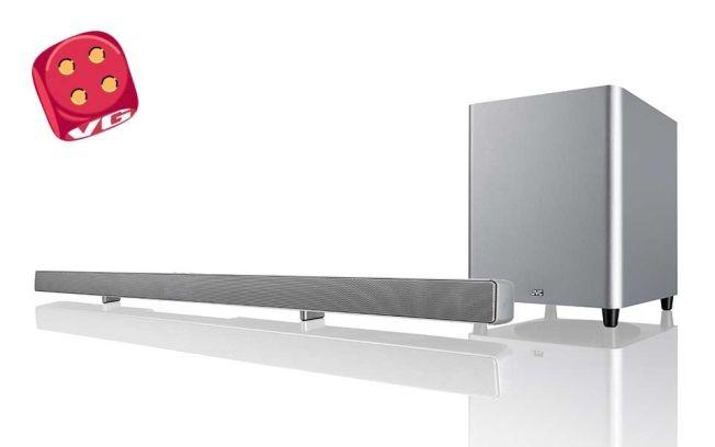 TYNN: Slank og elegant lydplanke med helt ok lydkvalitet.