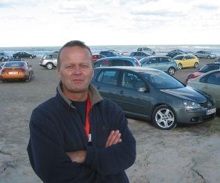 <p>IKKE OVERRASKET: Redaksjonssjef Rune Korsvoll i NAFs medlemsblad Motor.</p>