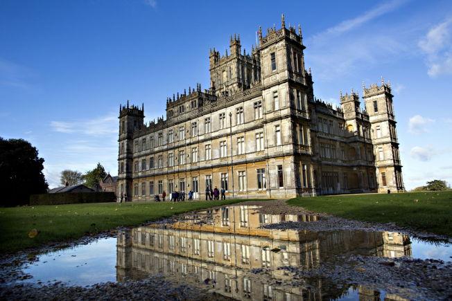 <p>SLOTTET FRÅ DOWNTON ABBEY: Highclere Castle er blitt verdenskjent takket være tv-serien. Slottet tar i mot besøk i sommerhalvåret.<br/></p>