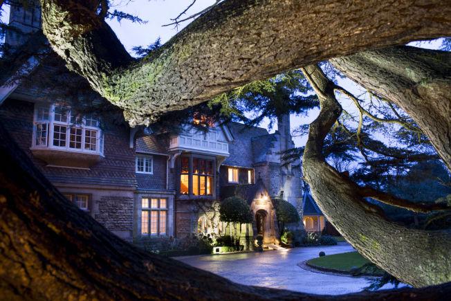 <p>KONGELIG JAKTHYTTE: Hambleton Hall i Rutland er fra 1881 er nå et eksklusivt hotell, hvor prins Charles også har vært på jaktmiddag</p>