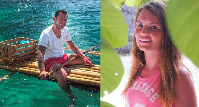 <p/> <p>FORELSKET: Jonas Myrvold (29) og Sandra Hauge (23) var begge med i TVNorges «Adam søker Eva», men de var ikke på Filippinene samtidig.<br/></p>