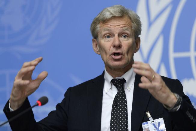 <p>MANER TIL STØRRE INNSATS: Generalsekretær i Flyktninghjelpen Jan Egeland mener den norske bistandssekken til Syria er altfor liten.<br/></p>
