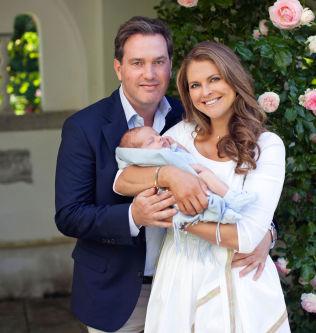 <p>STOLTE FORELDRE: Prinsesse Madeleine og ektemannen Chris O'Neill, her avbildet tidligere i år.<br/></p>