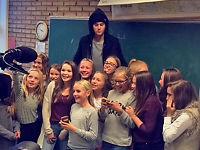 Justin Bieber inviterte hele klassen på konsert