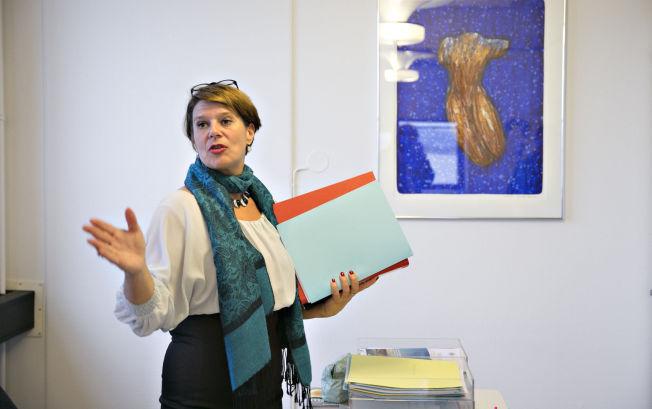 <p>ADVARTE REKTORENE: Skolebyråd Tone Tellevik Dahl (Ap) deltok på sitt første møte med Oslo-rektorene onsdag. Hun minnet dem om at det ikke skal øves på kartleggingsprøver.</p>