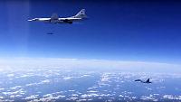 Russiske krigsfly langs norskekysten på vei til Syria-bombing
