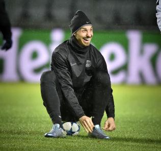 <p>SOM EN UNGE: Zlatan Ibrahimovic skal møte Malmö i sin egen hjemby, og han gleder seg, for å si det forsiktig.</p>