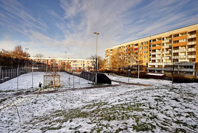 <p>ZLATANs PLASS: I blokken til høyre, i femte etasje, vokste Zlatan opp.<br/></p>