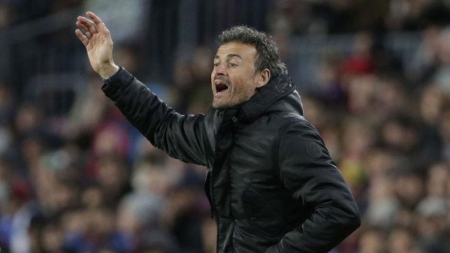 <p>JAKTER TITLER: Barcelona topper La Liga og er klare for åttedelsfinale i Champions League.<br/></p>