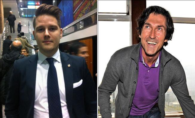 <p>SUPPORTER OG EKSPERT: Barcelona-supporter Thomas Dragsnes (til venstre) og kommentator Roar Stokke er enige i at laget ser fryktelig sterkt ut for tiden.<br/></p>