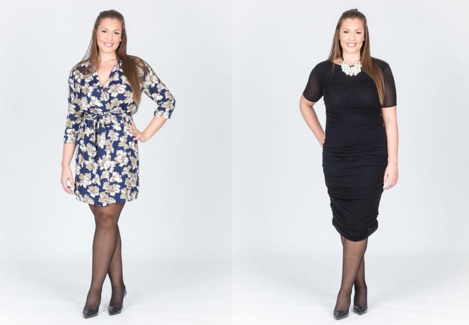 3500c2a0 SE, SÅ FLOTT! Sarah viser frem både den klassiske lille sorte og en leken  mønstrete kjole, begge fra Ganni. Kjolene er i størrelse Large og passer  perfekt ...