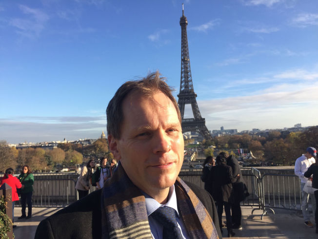 FIKK PROTESTER: UENIG: Aslak Brun er Norges sjefsforhandler i arbeidet med ny klimaavtale.