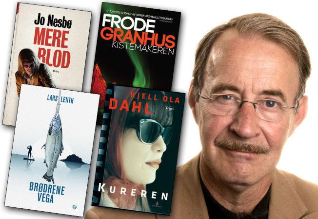 <p>KRITISK: Litteraturprofessor og leder av Rivertonjuryen Hans H. Skei svarer «nei, nei, nei» på spørsmål om disse fire bøkene - som er de nominerte til Brageprisen for årets beste krimbøker - er nettopp årets beste bøker i krimsjangeren.</p>