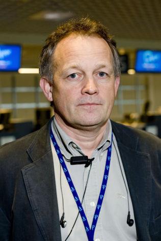 <p>FLYPLASSJEF: Pål F. Tandberg er administrerende direktør på Moss lufthavn Rygge.<br/></p>