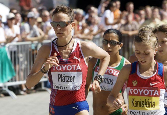 <p>FORTGANG I PROSESSEN: Kjersti Tysse Plätzer kan motta et OL-gull i posten om ikke lenge.</p>