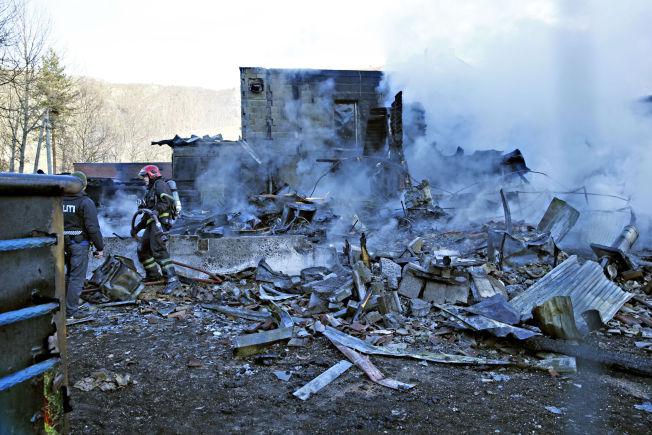 <p>BRANT NED: 162 beboere ble evakuert da det brøt ut brann i Hemsedal statlige asylmottak i november. En beboer er siktet for falsk forklaring etter brannen.</p>