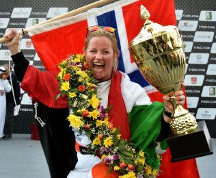 <p>GLAD: Marit Strømøy</p>