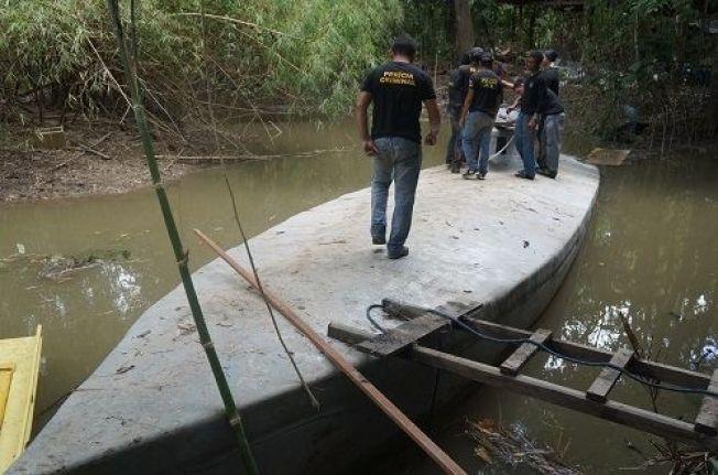 <p>BESLAGLAGT: Ubåten politiet fant ute i Amazonas-jungelen skal ha vært nesten ferdig bygget og klar for å frakte narkotika.</p>