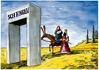 Da Jesus ble flyktning