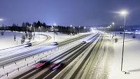 Kulda gir gode kjøreforhold over hele landet – men pass på i Rogaland!