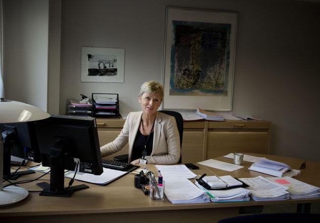 <p>MOTTOK KLAGE: Grethe Hovde Parr ved Fylkesmannen i Oslo og Akershus. FOTO: LINE MØLLER / VG</p>