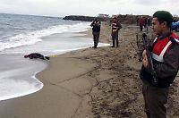 Døde båtflyktninger funnet på tyrkiske strender