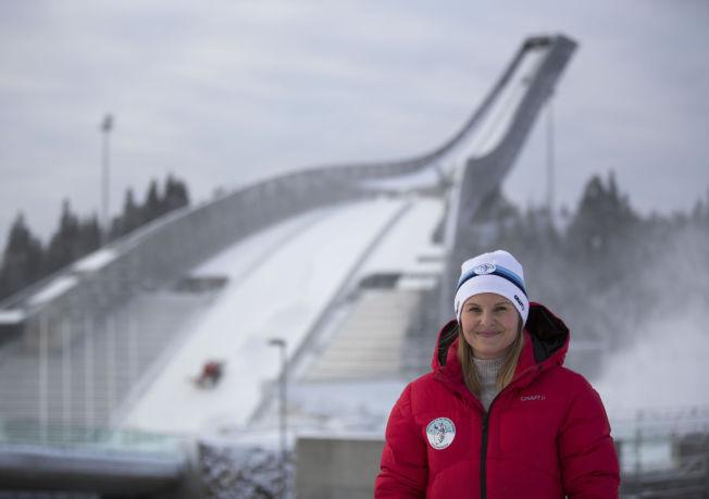 <p>OSLO: Emilie Norskar fra Skiforeningen i Holmenkollen.</p>