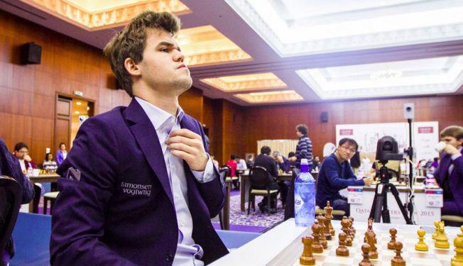 <p>FØRSTE VINNER: Magnus Carlsen ble i desember den første vinner av den nye sjakktouren. Nå bryter Norway Chess med Grand Chess Tour.</p>