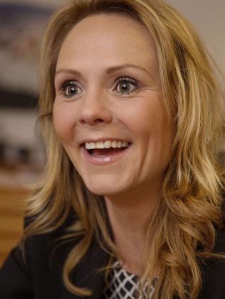 OL-tilhenger: Men Linda Hofstad Helleland, her i møte med VG onsdag, mener idretten er parten som må ta et nytt initiativ en gang i fremtiden.