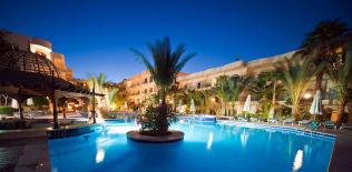 <p>STORHOTELL: Dette hotellet, Bella Vista Hurghada, skal være angrepet av terrorister.</p>