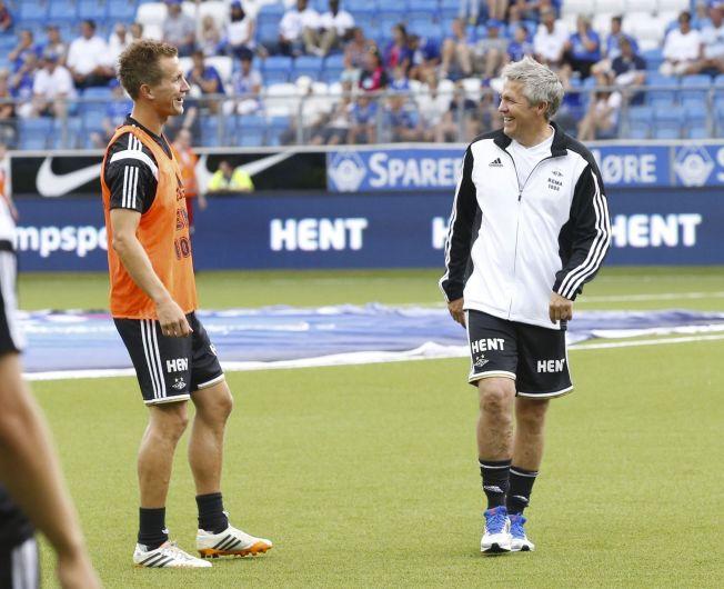 <p>MANGLET TILLIT: Kåre Ingebrigtsen (t.h) ønsket ikke å satse på Morten Gamst Pedersen i 2016-sesongen. Nå er han venstrekanten kjøpt ut av kontrakten med Rosenborg.</p>