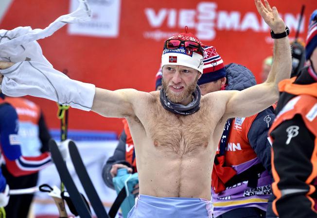 <p>MERKER KJØRET: Martin Johnsrud Sundby er et treningsprodukt av de sjeldne. Men kroppen tåler ikke hardkjøret mer enn tre-fire år til, tror verdens i øyeblikket beste langrennsløper. Her etter gårsdagens andreplass i Toblach.</p>