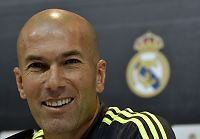 Enorm begeistring før Zidane-debut