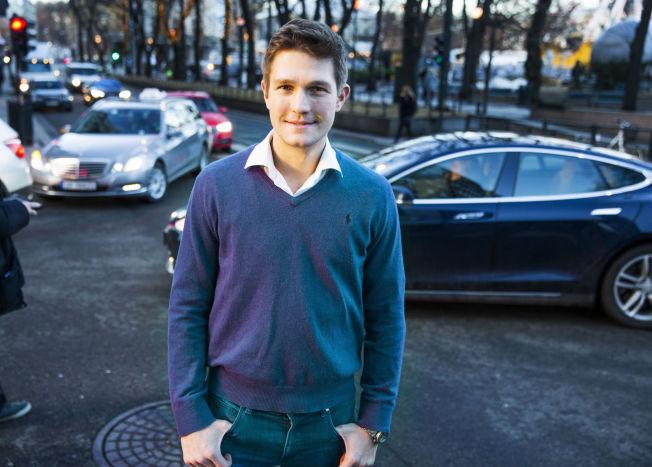 <p>POLITIFORSIKRING: Uber-sjef i Norge, Carl Edvard Endresen, er glad for Oslo-politiet sier de ikke vil forfølge passasjerer i Uber-biler.</p>