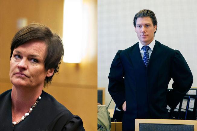 <p/> <p>MØTES I RETTEN: Advokat Mette Yvonne Larsen forsvarer den tiltalte jenta (16) i straffesaken, mens advokat Christian Flemmen Johansen bistår den fornærmede jenta (18).</p>